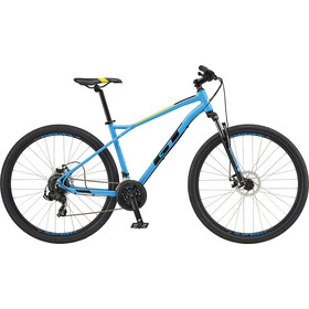 "GT Bicycles Aggressor Sport 27.5"" gloss cyan blue"